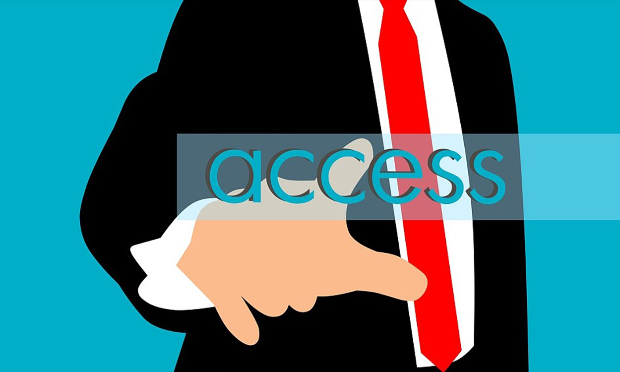 click on access