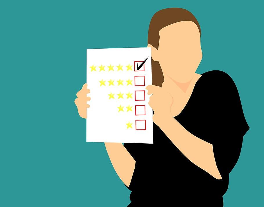 rating paper illustration